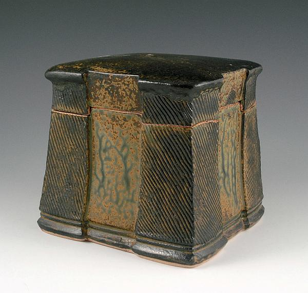 Ash Glazed Keepsake Box. Winter 2012