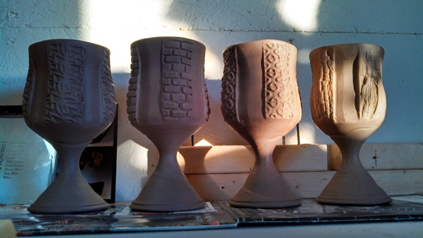 Botbyl Goblets in Progress