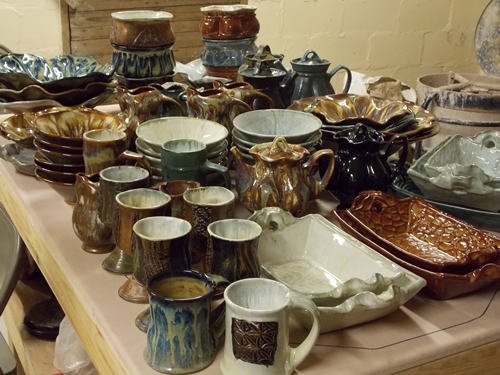 Second order to Hallelujah Pottery Gallery in Monteagle, TN